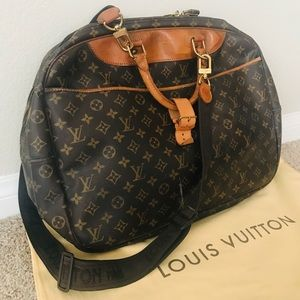 LOUIS VUITTON Monogram Alizé 2 Poches Travel Bag